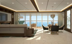 Cruise ship – One Bedroom Residence